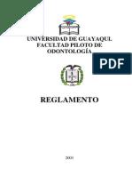 Reglamento de La Facultad Piloto de Odontología