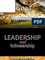 Leadership and Follower Ship PPT2003