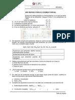 Repaso Examen Parcial 2012-1