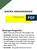 Kontrol Mikroorganisme