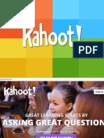 kahoot presentation