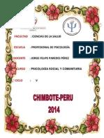 Informe Terminado de Psicología Social y Comunitaria, Finalizado.