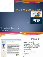 Instale Photo Story en 10 Pasos