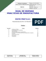 Manual de Bpm - Naranjas Frescas Empacadas