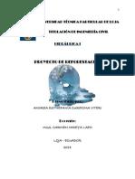 Informe reforestación