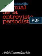 Manual de La Entrevista Periodistica