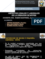 Mypes Gestion Empresarial