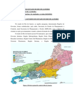 Regionalizacao Do Estado Do Rio de Janeiro Para o e