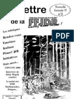 La Lettre de la FFJdR n.2 (nouvelle formule) - juillet 2000