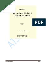 Tevârîh-i Cedîd-i Mir'ât-ı Cihan Osman (Bayburtlu)