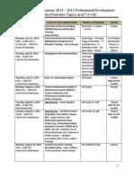 2014-15 pd plan
