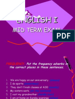 Mid Term Exam