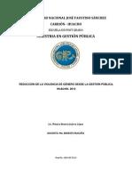 Plan de Tesis- Mónica Beatriz Juárez López