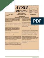 Atsız Mecmua - Sayı 3