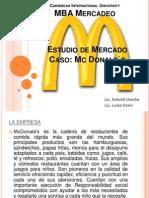 Estudio de Mercado Caso Mc Donalds