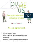 You, Me and Us powerpoint for 18 to 24 year olds