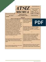 Atsız Mecmua - Sayı 7