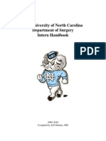 Intern Handbook 2009-2010