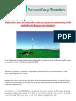 Streefcijfer Voor Hernieuwbare Energie Gegooid Verwarring Zoals Onderhandelingen Samenvouwen