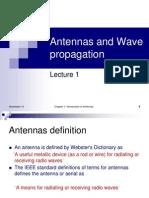 Antennas Lecture 1