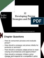 Kotler Framework 5e chapter 12