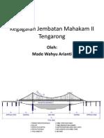Kegagalan Jembatan Mahakam II Tengarong oleh made wahyu arianti