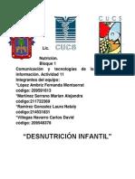 Desnutricion Infantil, Un Problema Global