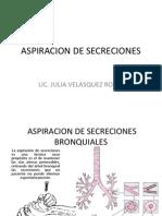 Aspiracion de Secreciones-II