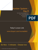 Lesson #24 - Dividing Fractions by Mixed Numbers