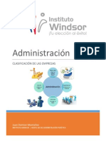 Administracion y Sus Clasificaciones