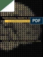 Transcranial Magnetic Stimulation - A Neurochronometrics of Mind
