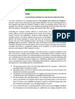 Notes on Operating System2013 Formatted