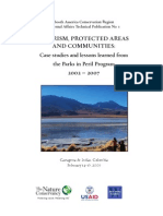 Tourism and Protected Areas TNC 2007