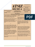 Atsız Mecmua - Sayı 10