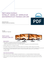 Dell S series monitors messaging brief.pdf