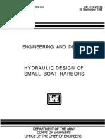Hydraulic Design of Small Boat Harbors