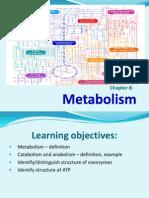BCM 150 Metabolism