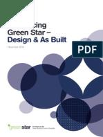 Green Star - Design & As Built