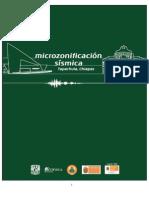 Microzonificación Sísmica Tapachula chiapas 2014