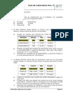 Laboratorio Semana 6 - Funciones Financieras