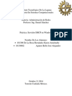 DHCP Server en Windows Server 2008 R2