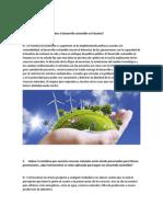 Preguntas sobre sostenibilidad e impacto ambiental