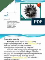 Presentation Roda Gigi Kerucut