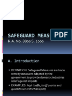 TA6 Safeguard Measures (F)