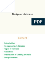 Design of Staircase
