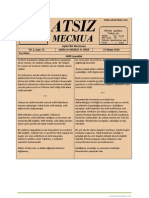 Atsız Mecmua - Sayı 13