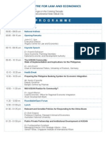 Programme - ASEAN Integration