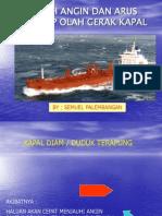 Pengaruh Angin Terhadap Olah Gerak Kapal