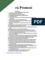 45 Trik Promos i