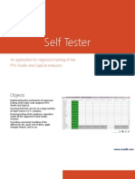 SelfTester Overview